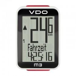Computer de biciclete VDO M3 WL 12 functions fara fir negru