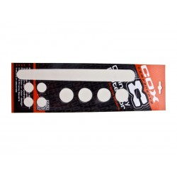Chainstay Protectie set COX Clear