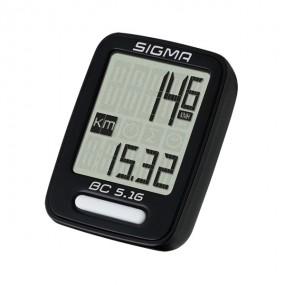 Computer de biciclete Sigma sport BC 5.16 sarma negru