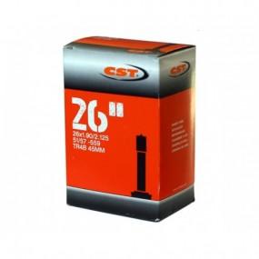 Camera CST 26x1.9/2.125 AV45mm Poly Geanta