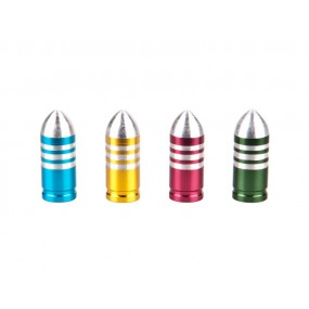 Capace ventil COX Bullet Alu Mixed colors anodized