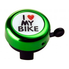 Sonerie RideFIT I love My bike 54mm Alumunium anod.colori