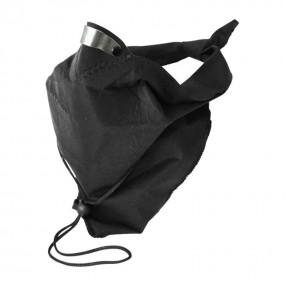 Bandit Scarf Plain negru