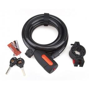 Antifurt Cox Spiral Cable Lock 15/1800
