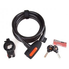 Antifurt Cox Spiral Cable Lock 12/1500