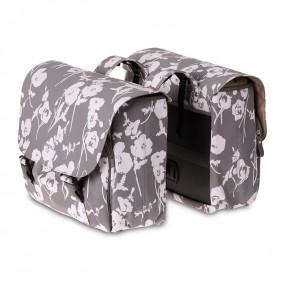 Coburi spate Basil Elegance-Double Bag gri