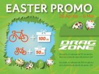 Promoție de Paște la Drag Zone, începând din 26 Aprilie, până pe 6 Mai