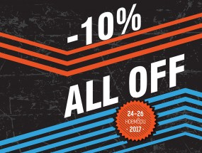 10% ALL OFF