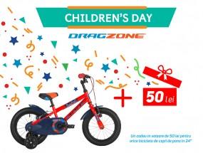 Dăruiește fericire, dăruiește-i copilului de ziua lui o bicicletă!