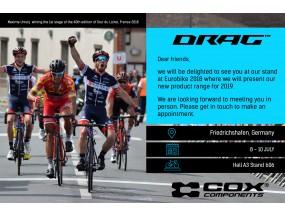 DRAG va participa la Eurobike 2018