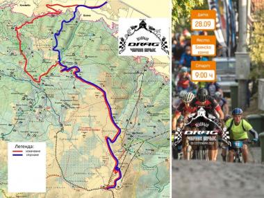 Промяна на състезателното трасе - Велорали Черни връх