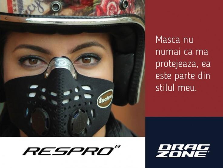 O mască de protectie pentru oraș
